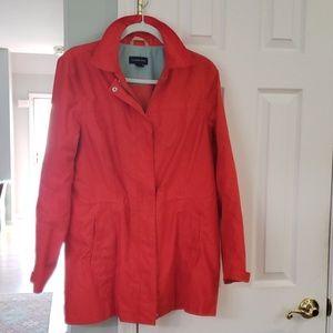 Lands' End raincoat no hood